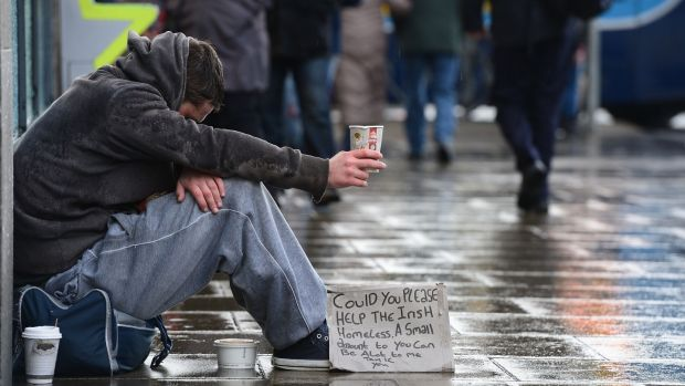 There has been a slight decrease in the number of homeless families in Dublin. File photograph: Alan Betson/The Irish Times