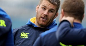 Seán O'Brien is ready to hit the ground running against Northampton. Photograph: Dan Sheridan/Inpho