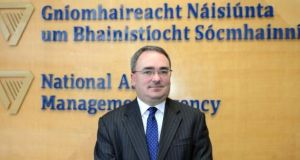 Nama chief executive Brendan McDonagh: he faces questions over lack of records on discussions at  meetings.  Photograph: Eric Luke