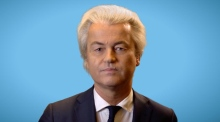 Dutch politician Geert Wilders reacts to hate speech conviction