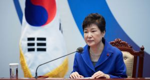 South Korea's President Park Geun-Hye: Scandal has further exposed the unhealthy ties between establishment politicians and the country's conglomerates.  Photograph: Getty Images