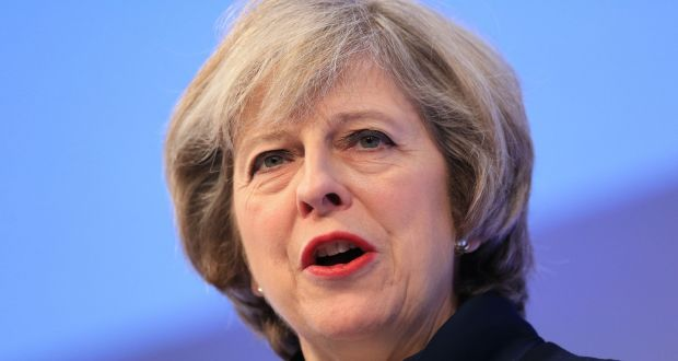 British prime minister Theresa May: said British rules should be toughened even further. Photograph: Jonathan Brady/PA Wire