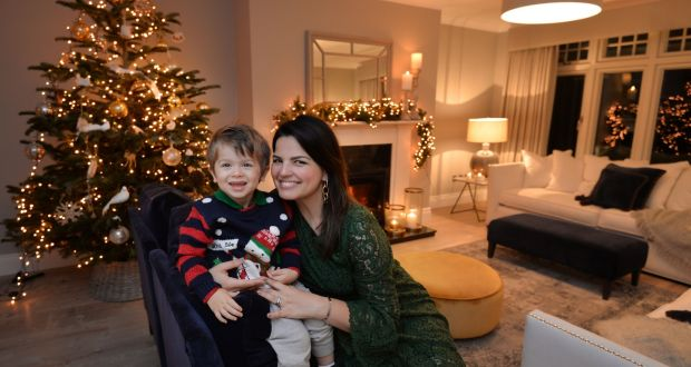 thomas kane with mum patricia in their new home in foxrock it was such - Coming Home For Christmas