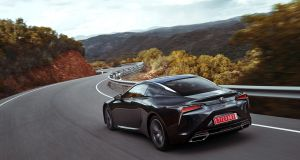 The LC is the first Lexus to be built on the firm's new large-car platform.