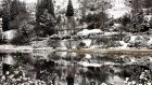 The perfect gift: Snowcovered landscape reflected in the lake, at Glendalough, Co Wicklow. Photograph: Eric Luke