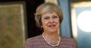 British prime minister Theresa May is set to trigger article 50 of the Lisbon Treaty by the end of March 2017. Photograph:  Stefan Wermuth/Pool/Getty Images