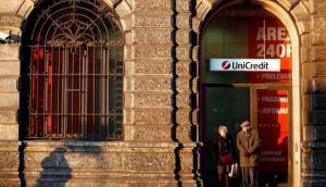 UniCredit head office in Milan. Photograph: Alessia Pierdomenico/Bloomberg