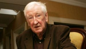 The poet John Montague who has died in France. Photograph: Cyril Byrne/The Irish Times