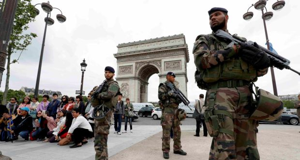 Image result for french army in paris