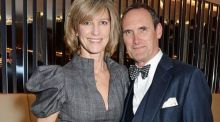 AA Gill photographed with his wife Nicola Formby in 2015. Photograph: David M Benett/Getty Images