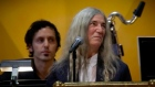 'Nervous' Patti Smith performs Nobel tribute to Bob Dylan