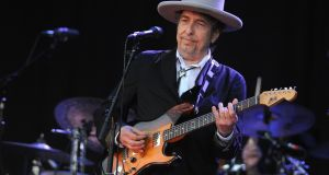 Bob Dylan did not attend the Nobel prize ceremony in Stockholm. Photograph: Fred Tanneau/AFP/Getty Images