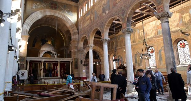 Blast Inside Cairos Coptic Cathedral Kills At Least 25