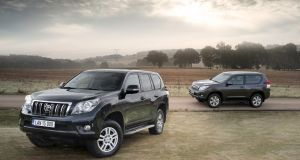 18 Toyota Land Cruiser:  Impeccable war zone credentials