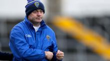 Munster hurling manager Anthony Daly at an empty-looking Semple Stadium. Photograph: Tommy Dickson/Inpho