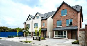 Castleknock Cross, Castleknock. A trader-upper would need to come up with a deposit of €164,000 to secure a five-bed house worth €820,000. And a first-time buyer? Even though Help to Buy doesn't apply to this scheme new mortgage rules means that €82,000 will suffice.