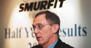 Gary McGann: The former Smurfit boss is up for the position of chairman of Aryzta food group.  Photograph: Frank Miller