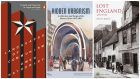 From left: Landscapes of Communism by Owen Hatherley; Hidden Urbanism: Architecture and Design of the Moscow Metro by Philipp Meuser and Anna Martovitskaya; Lost England 1870-1930 with text by Phillip Davies.