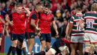 Conor Murray and Simon Zebo helped Munster to a resounding win over Leicester at Thomond Park. Photograph: Inpho/Dan Sheridan