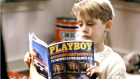 Kevin McCallister in 1990 with an object known as a magazine