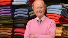 "Tom Monaghan of Monaghan's Cashmere, Dublin: ""There's no time for yourself in December, so we take some rest in March and April. Christmas is special, especially Christmas Day; still, it's back to work for the sales afterwards."" Photograph: Brenda Fitzsimons"