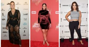Ashley Graham: a beacon of body confidence. Photographs: Gustavo Caballero/Getty Images; D Dipasupil/FilmMagic; Gary Gershoff/Getty Images