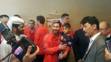 Lionel Messi meets 'plastic shirt' fan from Afghanistan