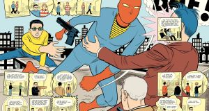 Daniel Clowes's graphic novel Patience,  a  time-travelling rumination on love, bereavement and obsession.