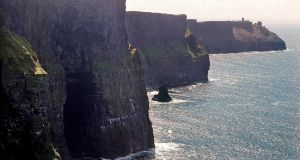 The Cliffs of Moher in Co Clare: attracting 1.2 million visitors a year. Photograph: Paul Hayden