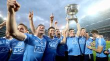 The big achievement of the year belongs to All-Ireland champions Dublin. Jim Gavin's team managed to go through the entire season of league and championship unbeaten. Photograph: Inpho