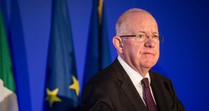 "Charlie Flanagan: following ""an intensive process of engagement with Goal"", Irish Aid was releasing €3.92 million in development funding for Goal. Photograph: Etienne Laurent/EPA"