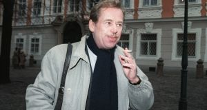 Vaclav Havel: for the Czech dissident  and other citizens of a dictatorship that created (dis)information, the truth was a slippery concept, liable to elite manipulation.  Photograph: Daniel Janin/AFP/Getty Images