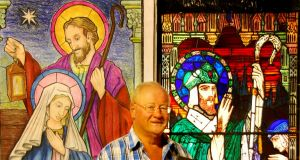 Ken Ryan, stained glass conservator