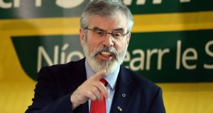 'Gerry Adams got himself into his current political difficulty because he was engaged in political handling.' Photograph: Eric Luke