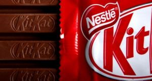 A decision by the General Court in Luxembourg means the shape of the KitKat chocolate bar, produced by Nestlé,  can be imitated by other food producers. File photograph: Getty Images