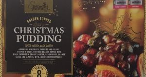At 907g the Aldi pudding is a fine size and will quite handily feed a full house on Christmas Day.
