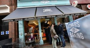 Ashers' Bakery in Belfast refused to bake a cake with a pro-gay marriage slogan for Gareth Lee in 2014. Photograph: Charles McQuillan/Getty Images