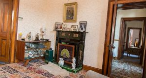 One of the upstairs sitting rooms. Photograph: James Connolly