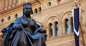 The statue of Queen Victoria outside the Queen Victoria building in Sydney, Australia. Photograph: Getty Images/iStockphoto