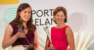 Sonia O'Sullivan presented with outstanding contribution award