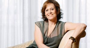 "Sigourney Weaver: ""Growing up, I was much, much too shy to ever think that I was going to be an actor."""