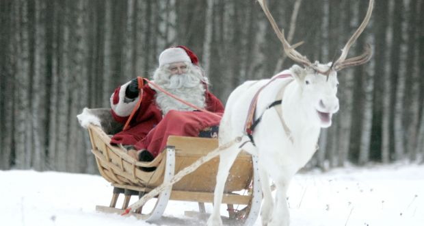 a flying visit to santa s command centre in lapland