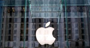 Apple: The global tech giant is 'a convenient target because it generates lots of headlines', the company's general counsel claims. Photograph: Reuters/Mike Segar