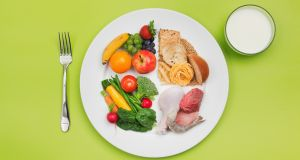 Here's a small goal tip that might work for weight loss: reduce the size of your dinner plate