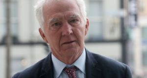 Former chairman of Anglo Irish Bank Seán Fitzpatrick. Photograph: Collins