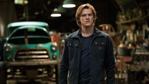 "Looking for ""something with four wheels that will get me out of this place"": Lucas Till in Monster Trucks"