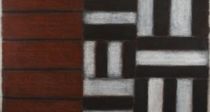 A pastel by Sean Scully, titled 1.6.92, which sold for €165,000 at deVeres