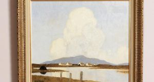 Evening in Achill by Paul Henry, which sold for €135,000  at Morgan O'Driscoll