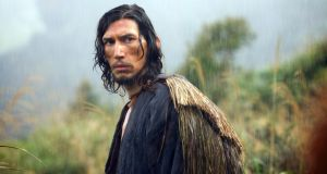 Adam Driver in Silence in which he plays a Jesuit priest who is starved and beaten in 17th-century Japan.