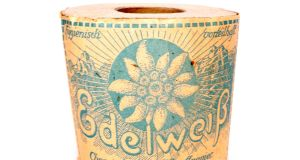 Unused roll of toilet paper as issued to Germany's Wehrmacht, which sold for €290